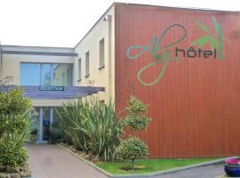 Brit Hotel Alghotel, hotel in Cancale