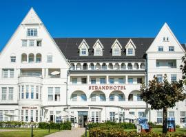 Strandhotel Glücksburg, отель в городе Глюксбург