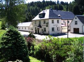 Gasthaus Stollmühle, Hotel in der Nähe von: Wernesgrüner Brauerei, Stützengrün