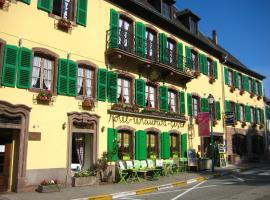 Hotel Restaurant Aux Trois Roses, hôtel à La Petite-Pierre