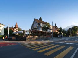 Hotel Spatz, Hotel in der Nähe von: Sonnenberg, Luzern