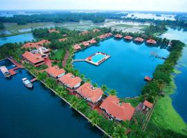 Lake Palace Backwater Resort Alleppey, accessible hotel in Alleppey