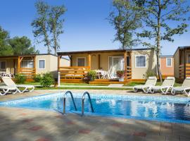 Mobile Homes Valkanela, vacation rental in Funtana