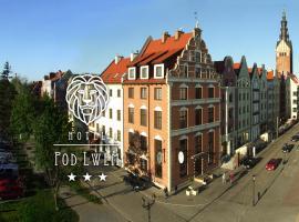 Hotel Pod Lwem – hotel w Elblągu
