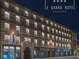 Le Grand Hôtel Grenoble, hotel in Grenoble
