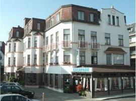 Hotel Escapade, hotel in De Haan