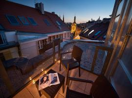 EA Embassy Prague Hotel, hotel near Florenc Central Bus Station, Prague