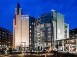 Radisson Blu Royal Hotel, Helsinki, hotelli Helsingissä