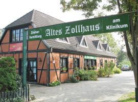 Altes Zollhaus am Klinikum, hotel i Lübeck