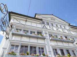 Anker Hotel Restaurant, hotel near Säntis, Teufen