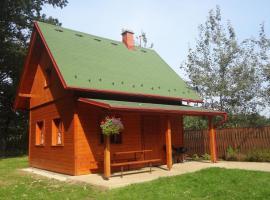 Chaty u rybníka Brodský – hotel w mieście Červený Kostelec