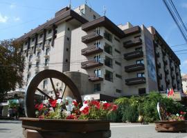 Hotel Rapsodia City Center, hotel in Botoşani