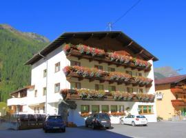 Hotel Pension St. Leonhard, hotel in Sankt Leonhard im Pitztal