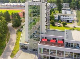 Hotel Sportforum, hotell i Rostock