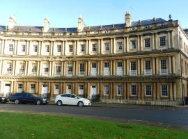 18 The Circus, Bath, apartment in Bath
