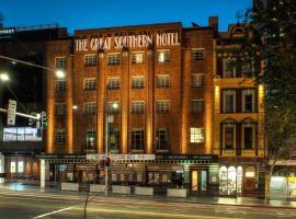 Great Southern Hotel Sydney, hotel en Chinatown, Sídney
