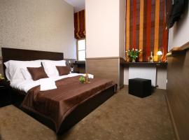 Central Hotel 21 and Apartments, hotel a Blaha Lujza tér metróállomás környékén Budapesten