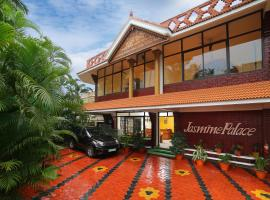 Jasmine Palace, accessible hotel in Kovalam