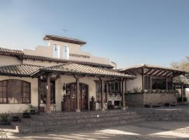 Hotel Hacienda Abraspungo, hotel em Riobamba