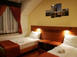 Hotel Kuźnia Oberża Polska, hotel near Kamienica Pod Gwiazdą, Łysomice