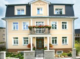 Spa Hotel Villa Walir, wellness hotel v destinaci Mariánské Lázně