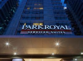 PARKROYAL Serviced Suites Kuala Lumpur, hotel in Kuala Lumpur