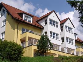 4 Sterne Apartmenthaus Glück Auf, Ferienwohnung in Sankt Andreasberg