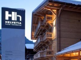 Helvetia hotel, hôtel à Morgins
