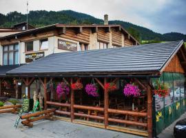 Hotel Diery – hotel w pobliżu miejsca Wyciąg narciarski Białasówka w Tierchowej