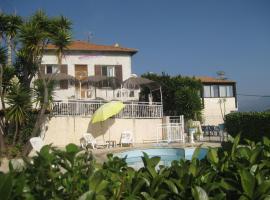 Auberge Villa Montaleigne, hotel en Saint-Laurent-du-Var