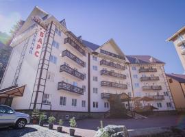 Отель Снежный Барс Домбай, отель в Домбае
