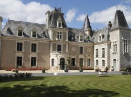 Hotel The Originals Château de la Barbinière (ex Relais du Silence), hotel in Saint-Laurent-sur-Sèvre