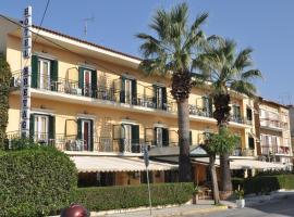 Hotel Bretagne, hôtel à Corfou