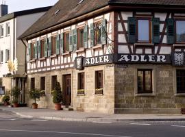 Ringhotel Adler Asperg, hotel near Train Station Ludwigsburg, Asperg