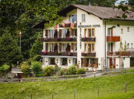 Hotel Berghaus, maison d'hôtes à Wengen
