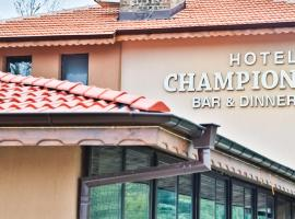Hotel Champion, hotel in Kazanlŭk