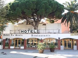 Hotel la Masia, hotel in Portbou