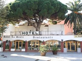 Hotel la Masia, hotel near Collioure Royal Castle, Portbou