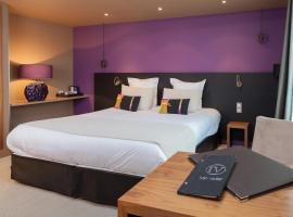 Hotel Restaurant Spa Ivan Vautier, hôtel à Caen