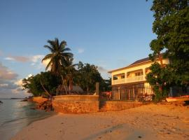 Marie-France Beach Front Apartments, hotel in La Digue
