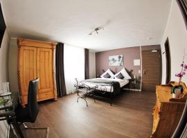 Apado-Hotel garni, hotel Homburgban