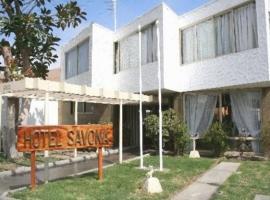 Hotel Savona, hotel en Arica