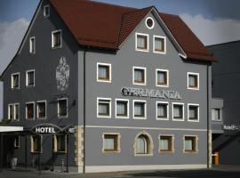 Hotel Germania, отель в Ройтлингене