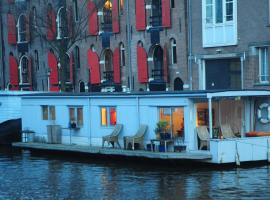 Pantheos Top Houseboat, Boot in Amsterdam