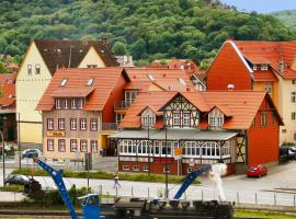 Altora Eisenbahn Themenhotel: Wernigerode şehrinde bir otel