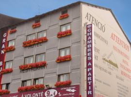 Hotel Les Neus, hotel in Pas de la Casa
