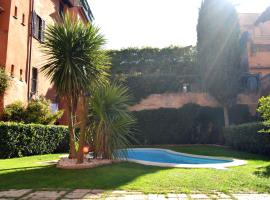Monolocale con piscina a Trastevere, hotel with pools in Rome