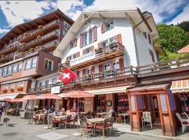 Eiger Guesthouse, maison d'hôtes à Mürren