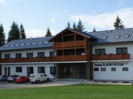 Penzión Zlatny Potok, hotel Mutnén