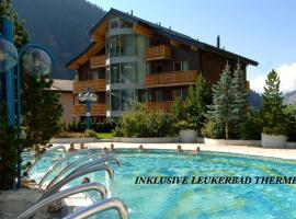 Hotel Viktoria-Leukerbad-Therme, hotel in Leukerbad